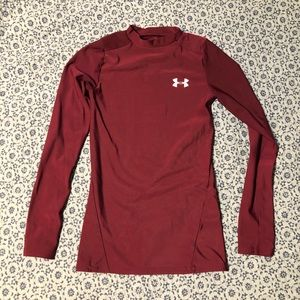 Under Armour heat gear shirt size Y M